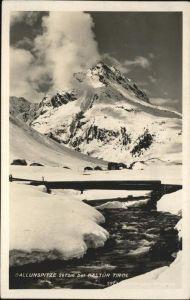 Galtuer Tirol Ballunspitze / Galtuer /Tiroler Oberland