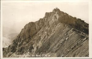 Imst Tirol Muttekopfgipfel / Imst /Tiroler Oberland