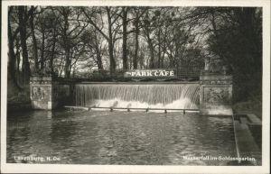 Laxenburg Wasserfall Schlossgarten Kat. Laxenburg