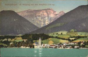 St Wolfgang Salzkammergut Schafberg Kat. St. Wolfgang im Salzkammergut