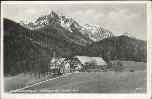 Neukirchen Enknach Grossalm Kat. Neukirchen an der Enknach