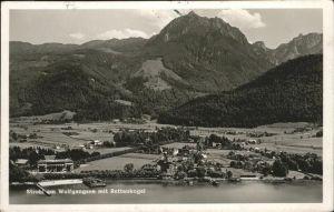 Strobl Wolfgangsee Rettenkogel Fliegeraufnahme  Kat. Strobl