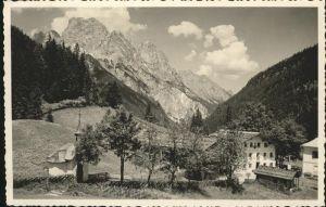 Weissbach Lofer Hirschbuehl Mooswacht / Weissbach bei Lofer /Pinzgau-Pongau