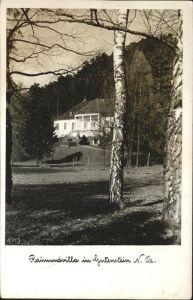 Gutenstein Niederoesterreich Villa