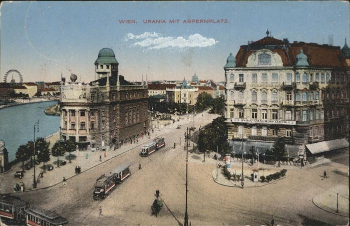 Wien Urania Aspernplatz Strassenbahn
