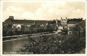 Steyr Enns Oberoesterreich Schloss Lamberg Bruecke / Steyr /Steyr-Kirchdorf
