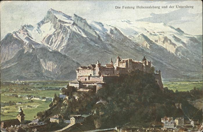 Hohensalzburg Untersberg Festung