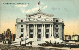Newark New Jersey Court House Kat. Newark
