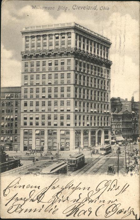 Cleveland Ohio Williams Building Kat. Cleveland