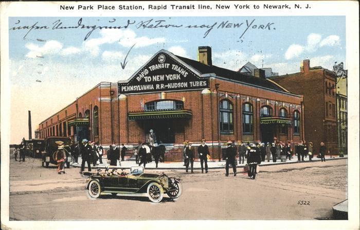 Newark New Jersey Rapid Transit Trans Kat. Newark