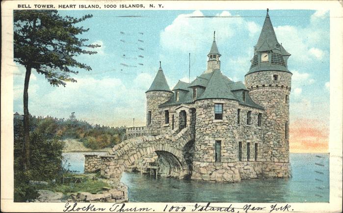 Alexandria Bay Glockenturm Kat. Alexandria Bay