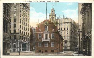 Boston Massachusetts Old State House Kat. Boston