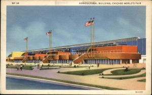 Chicago World Fair Agricultural Building Kat. Chicago