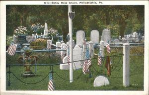 Philadelphia Mississippi Betsy Ross Grave Kat. Philadelphia