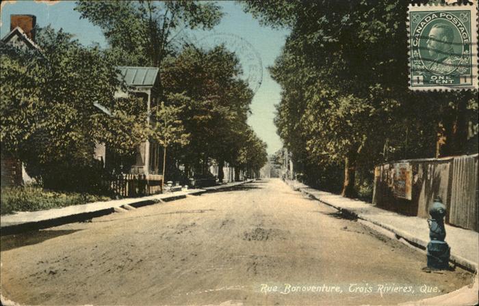 Quebec Rue Bonoventure Kat. Quebec
