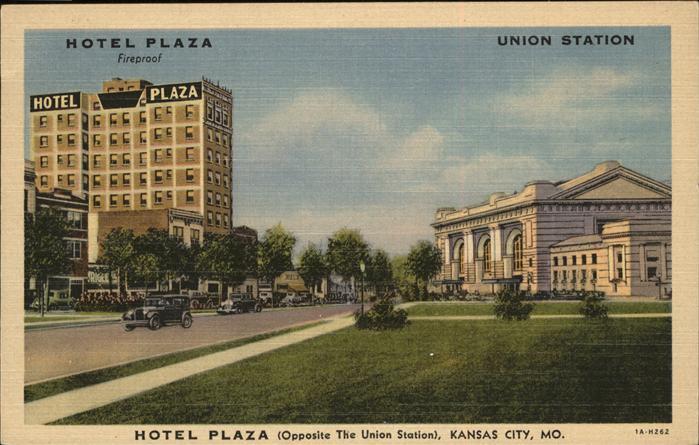 Kansas City Missouri Hotel Plaza Kat. Kansas City