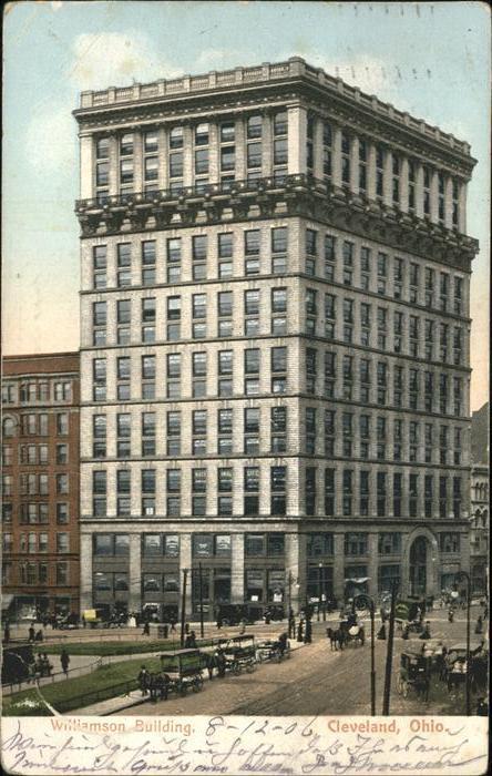 Cleveland Ohio Williamson Building Kat. Cleveland