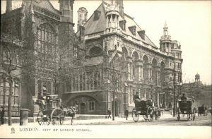 London City of London School Kat. City of London