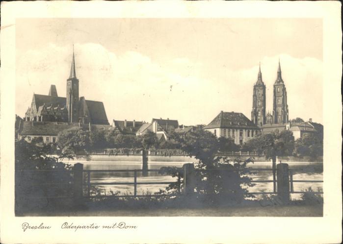 Breslau Niederschlesien Breslau Operpartie Dom x / Wroclaw /