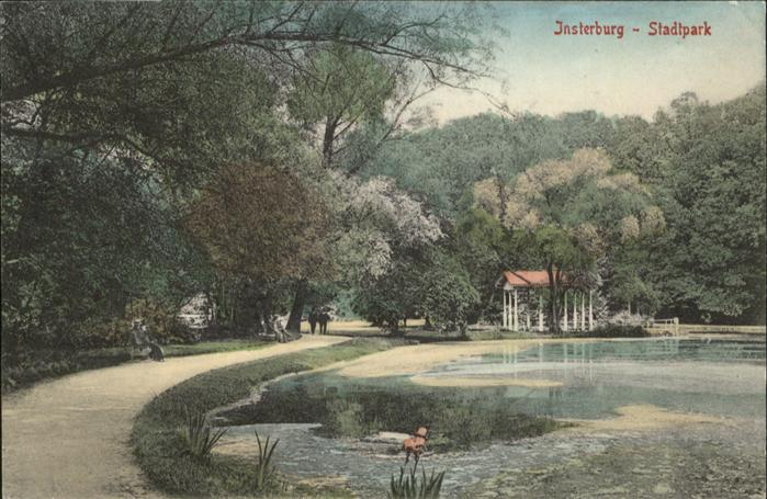Insterburg Insterburg Stadtpark * / Tschernjachowsk /