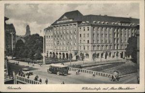 Gleiwitz Gliwice Gleiwitz Wilhelmstrasse Haus Oberschlesien Bruecke * / Gliwice /