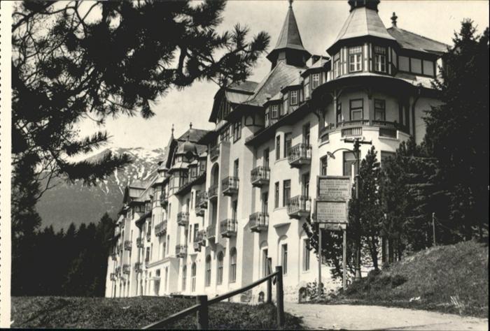 Hohe Tatra grand Hotel Praha / Slowakische Republik /