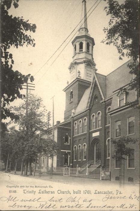 Lancaster Pennsylvania Trinity Lutheran Church  / Lancaster /