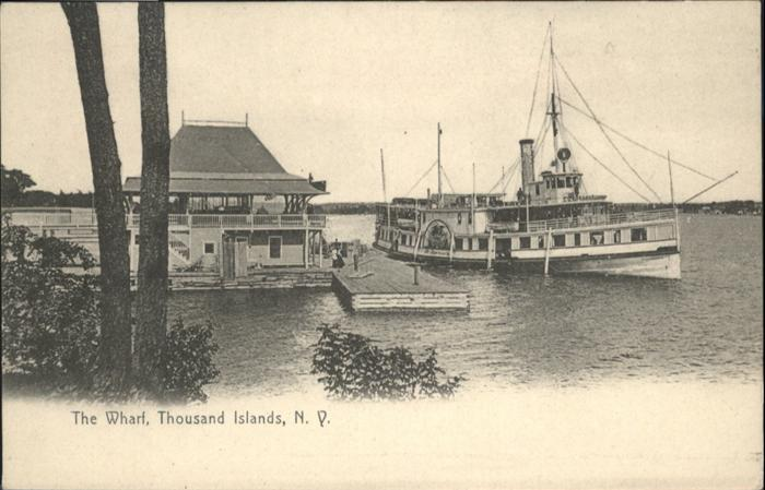 Thousand Island Park Schiff Wharf / Thousand Island Park /