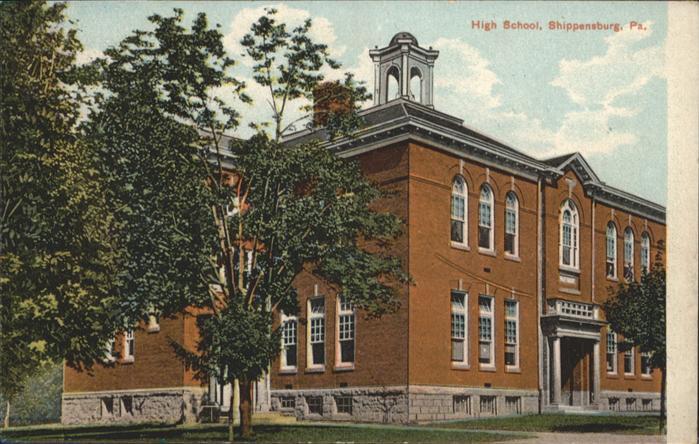 Shippensburg High School / Shippensburg /