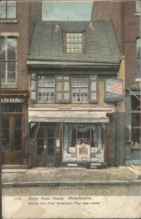 Philadelphia New York Betsy Ross House  / Philadelphia /