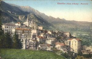 Chatillon Valle d Aosta  / Aostatal Italien /