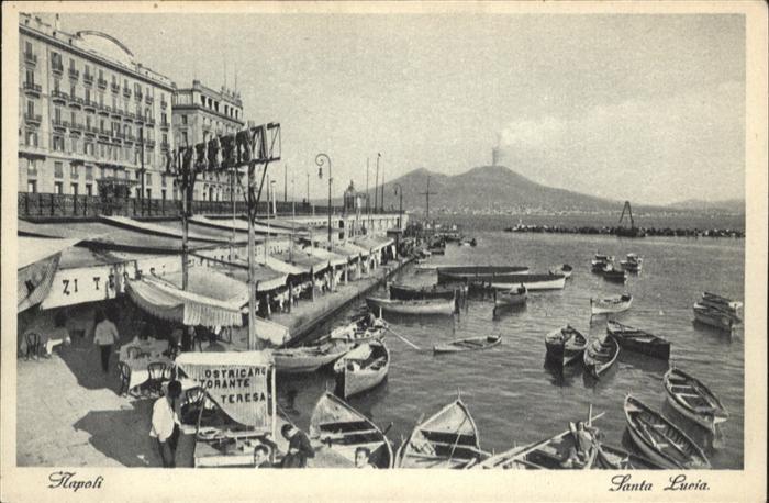Napoli Neapel Santa Lucia Boot / Napoli /