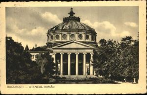Bucuresti Ateneul Roman / Rumaenien /