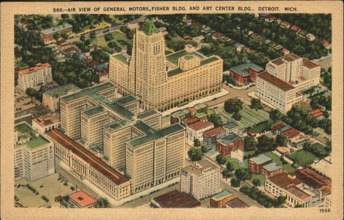 Detroit Michigan Fisher Building Art Center Building / Detroit /
