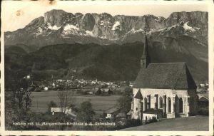 Hallein St Margarethen Kirche  Untersberg / Hallein /Salzburg und Umgebung
