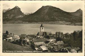 St Wolfgang Salzkammergut Sparber Pleckwand Wieslerhorn / St. Wolfgang im Salzkammergut /Traunviertel