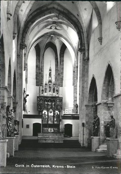 Krems Donau Gotik  / Krems an der Donau /Waldviertel