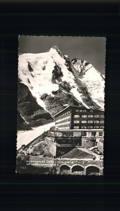 Kals Grossglockner Kaiser Franz-Josef-Haus / Kals am Grossglockner /Osttirol