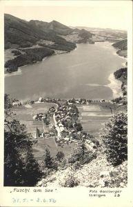 Fuschl See Salzkammergut  / Fuschl am See /Salzburg und Umgebung
