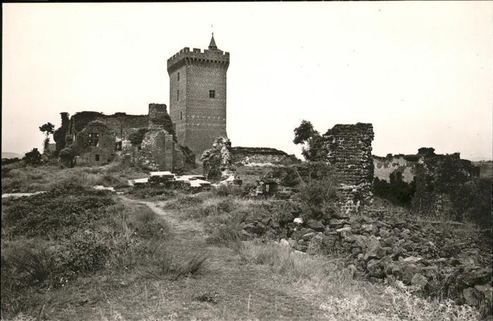 Polignac Haute-Loire Ruines du Chateau / Polignac /Arrond. du Puy