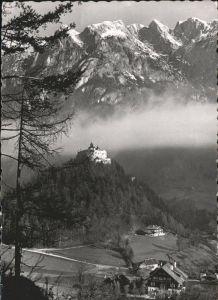 Werfen Salzburg Burg Hohenwerfen / Werfen /Pinzgau-Pongau