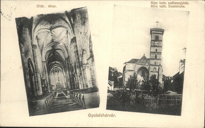 Gyulafehervar Dom Kirche   / Ungarn /
