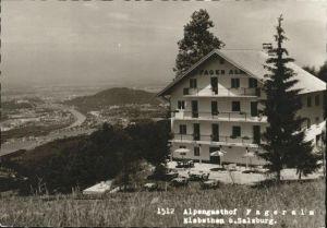 Elsbethen Alpengasthof Fageralm / Elsbethen /Salzburg und Umgebung