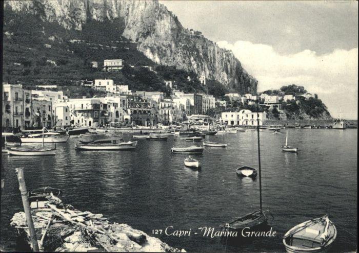 Capri Capri Marina Grande Schiff * / Italien /