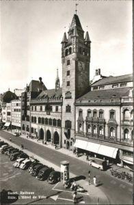 Basel BS Basel Rathaus Hotel de Ville * / Basel /Bz. Basel Stadt City