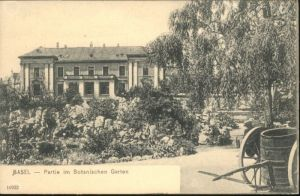 Basel BS Basel Botanischer Garten * / Basel /Bz. Basel Stadt City