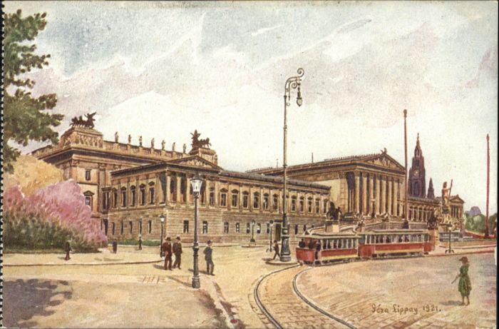 Wien Wien Parlament Strassenbahn * / Wien /Wien