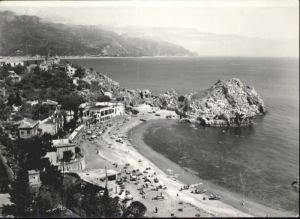 Taormina Sizilien Taormina Strand * /  /Messina