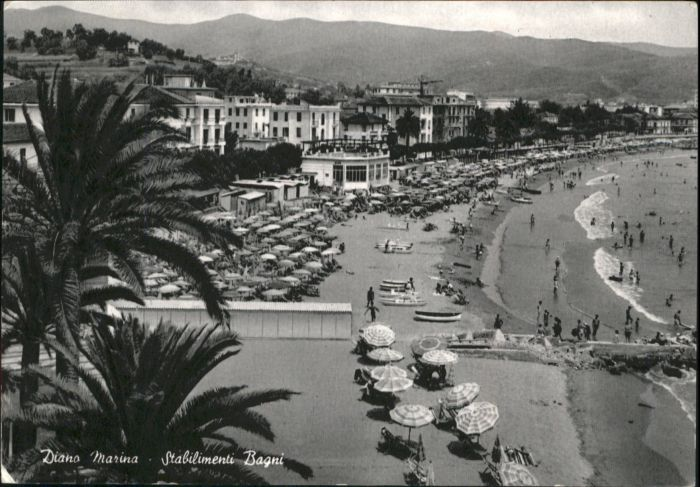 Diano marina diano marina stabilimenti bagni x italien nr