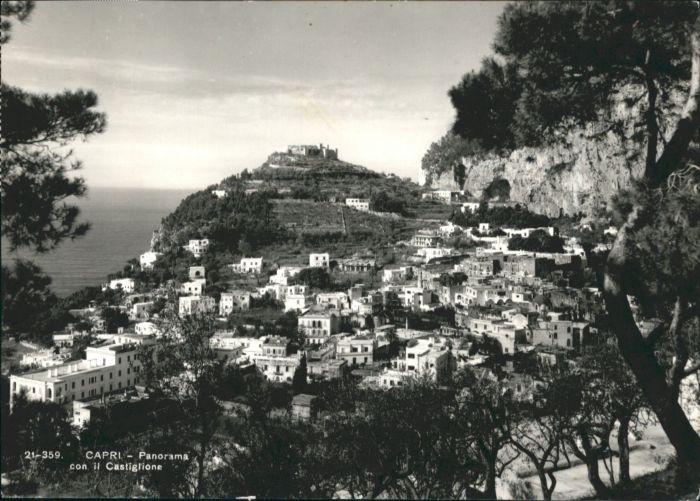 Capri Capri con il Castiglione x / Italien /